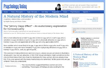 http://www.psychologytoday.com/blog/natural-history-the-modern-mind/200906/the-johnny-depp-effect-evolutionary-explanation-homosexu