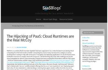 http://www.saasblogs.com/saas/the-hijacking-of-paas/