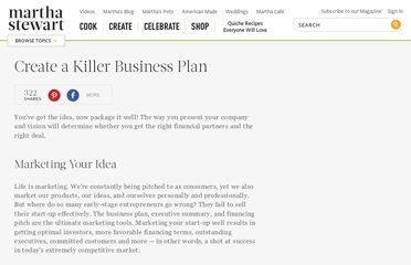 http://www.marthastewart.com/266952/how-to-create-a-killer-business-plan