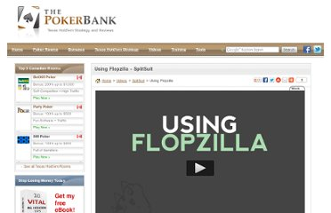 http://www.thepokerbank.com/videos/splitsuit/using-flopzilla/
