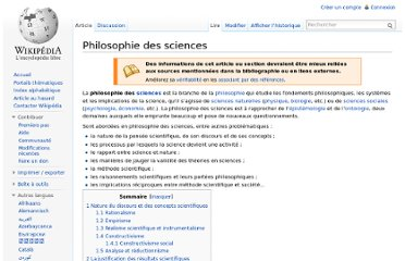 http://fr.wikipedia.org/wiki/Philosophie_des_sciences