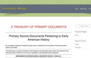 http://www.constitution.org/primarysources/primarysources.html