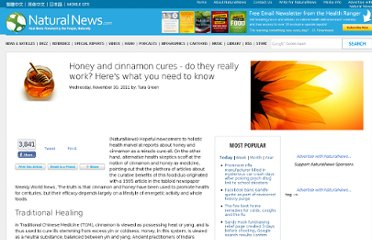 http://www.naturalnews.com/034280_honey_cures_cinnamon.html