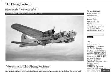 http://flyingfortress.wordpress.com/2008/06/03/dieselpunk-for-the-war-effort/
