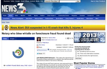 http://www.mynews3.com/content/news/story/Notary-who-blew-whistle-on-foreclosure-fraud/gdZL4mIJ50CzCFK8GI33_A.cspx