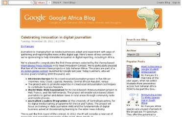 http://google-africa.blogspot.com/2011/11/celebrating-innovation-in-digital.html