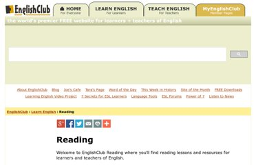 http://www.englishclub.com/reading/index.htm