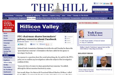 http://thehill.com/blogs/hillicon-valley/technology/186751-ftc-chairman-shares-lawmakers-privacy-concerns-about-facebook