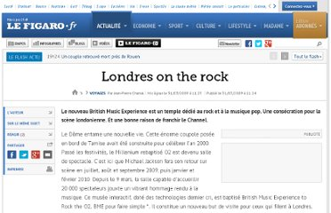 http://www.lefigaro.fr/voyages/2009/03/31/03007-20090331ARTFIG00341-londres-on-the-rock-.php