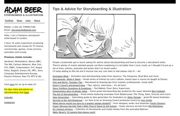 http://adambeer.co.uk/storyboarding-links-and-tips