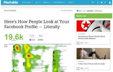 http://mashable.com/2011/11/30/social-profile-eye-tracking/