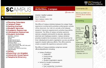 http://scampus.usc.edu/activities/
