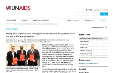 http://www.unaids.org/en/resources/presscentre/pressreleaseandstatementarchive/2011/november/20111121wad2011report/