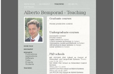 http://cse.lab.imtlucca.it/~bemporad/Alberto_Bemporads_Home_Page/Teaching.html
