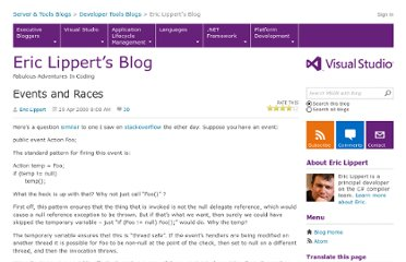 http://blogs.msdn.com/b/ericlippert/archive/2009/04/29/events-and-races.aspx
