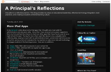 http://esheninger.blogspot.com/2010/07/more-ipad-apps.html