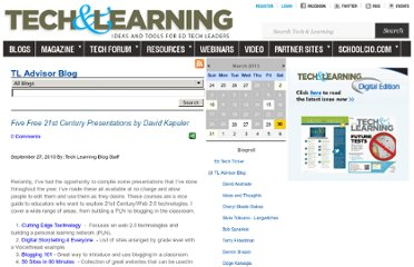 http://www.techlearning.com/blogs/33208