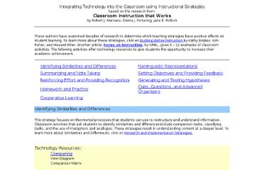 http://www.tltguide.ccsd.k12.co.us/instructional_tools/Strategies/Strategies.html#similar