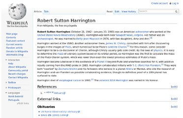 http://en.wikipedia.org/wiki/Robert_Sutton_Harrington