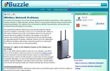 http://www.buzzle.com/articles/wireless-network-problems.html