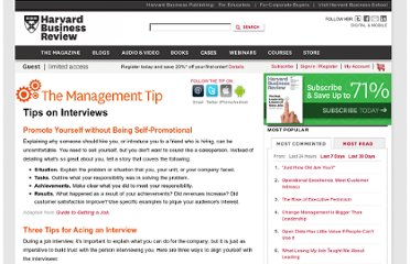 http://hbr.org/web/management-tip/tips-on-interviews