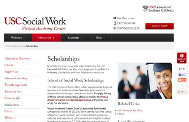 http://msw.usc.edu/admissions/scholarships-and-loan-forgiveness/