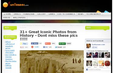 http://www.funbazaar.com/emails/funny-emails/31-great-iconic-photos-from-history-dont-miss-these-pics.htm