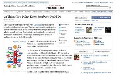 http://www.nytimes.com/2011/12/01/technology/personaltech/12-things-you-didnt-know-facebook-could-do.html?pagewanted=all