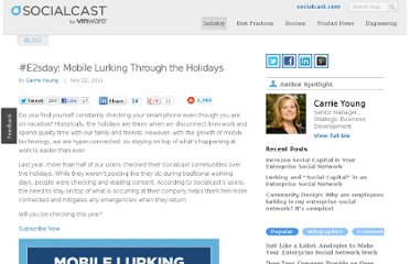 http://blog.socialcast.com/e2sday-mobile-lurking-through-the-holidays/