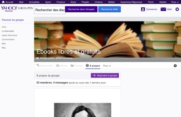 http://fr.groups.yahoo.com/group/ebooksgratuits/