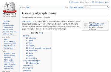 http://en.wikipedia.org/wiki/Glossary_of_graph_theory#Subgraphs
