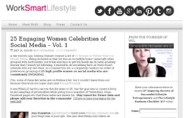 http://www.worksmartmompreneurs.com/blog/inspiration/25-engaging-women-celebrities-on-social-media-vol-1/