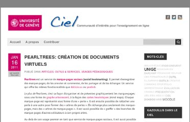 http://ciel.unige.ch/2011/01/pearltrees-creation-de-documents-virtuels/