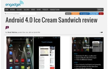 http://www.engadget.com/2011/12/01/android-4-0-ice-cream-sandwich-review/
