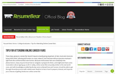 http://blog.resumebear.com/college-graduates/tips-for-attending-online-career-fairs/