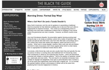 http://www.blacktieguide.com/Supplemental/Morning_Dress.htm