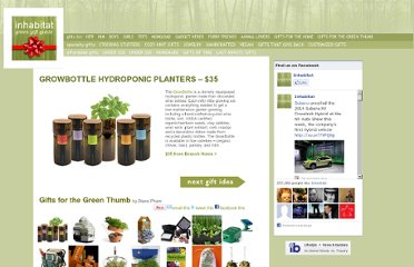 http://inhabitat.com/greenholidaygiftguide/green-gifts-for-the-green-thumb/growbottle-hydropionic-bottle-planters/