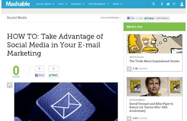 http://mashable.com/2010/01/20/social-media-email-marketing/