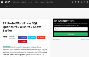 http://www.onextrapixel.com/2010/01/30/13-useful-wordpress-sql-queries-you-wish-you-knew-earlier/