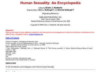 http://www2.hu-berlin.de/sexology/GESUND/ARCHIV/SEN/BEGIN.HTM#Contents