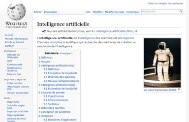 http://fr.wikipedia.org/wiki/Intelligence_artificielle