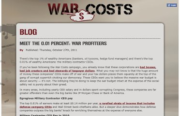 http://warcosts.com/2011/10/27/meet-the-0-01-percent-war-profiteers/
