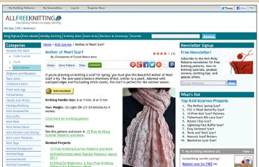 http://www.allfreeknitting.com/Knit-Scarves/mother-of-pearl-scarf/ml/1