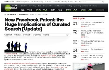 http://www.cbsnews.com/8301-505124_162-43449274/new-facebook-patent-the-huge-implications-of-curated-search-update/