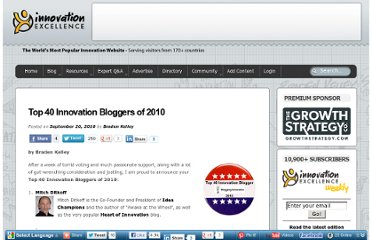http://www.innovationexcellence.com/blog/2010/09/20/top-40-innovation-bloggers-of-2010-4/