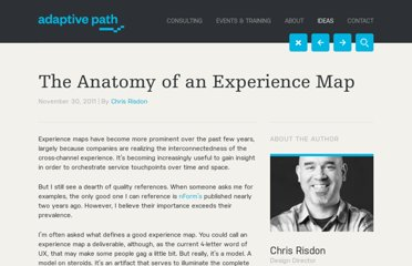 http://adaptivepath.com/ideas/the-anatomy-of-an-experience-map
