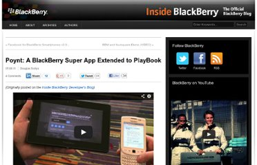 http://blogs.blackberry.com/2011/05/poynt-playbook-video/