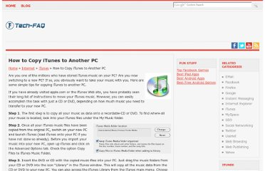 http://www.tech-faq.com/how-to-copy-itunes-to-another-pc.html