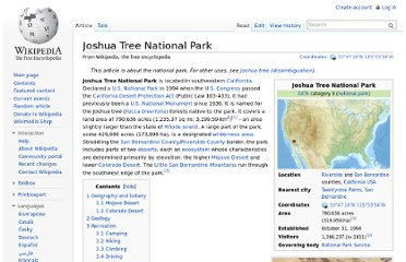 http://en.wikipedia.org/wiki/Joshua_Tree_National_Park
