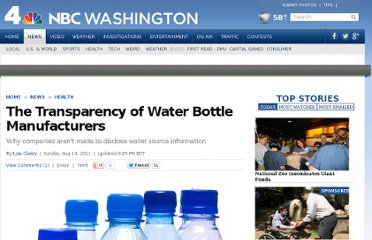 http://www.nbcwashington.com/news/health/The-Transparency-of-Water-Bottle-Manufacturers--116578518.html